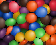 Sweets. Lots of colored sweets Royalty Free Stock Image