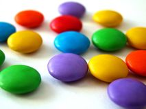 Sweets. Colored stock photos