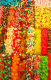 Sweets. Edge to edge shot of colourfull soft candies Stock Photography