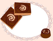 Sweets background Stock Photo
