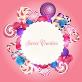 Sweets background Stock Photography