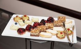 Sweets on banquet table Royalty Free Stock Photography