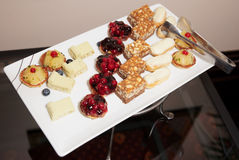 Sweets on banquet table Stock Photography