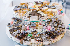 Sweets bar Stock Photo
