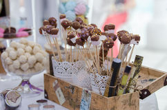 Sweets bar Royalty Free Stock Photography