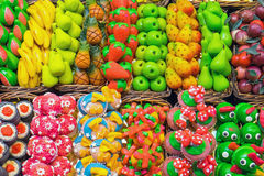 Sweets at the Boqueria Royalty Free Stock Images