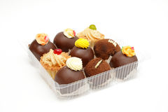 Sweets in box Royalty Free Stock Photography