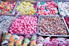 Sweets - candies Stock Image