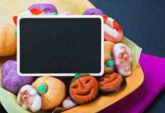 Sweets and candies for Halloween Stock Photography