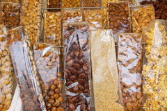 Sweets and candies torrone Stock Photography