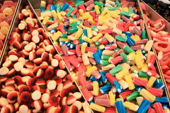Sweets and candies Royalty Free Stock Photo