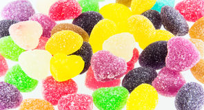 Sweets candy. A lot of colorful sweets Royalty Free Stock Photography