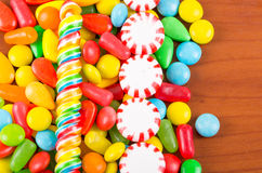 Sweets candy caramel colorful texture Royalty Free Stock Photos
