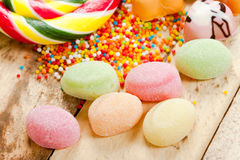 Sweets and candy. Royalty Free Stock Photography