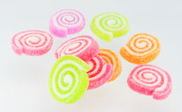 Sweets candy isolated. A lot of colorful sweets Royalty Free Stock Image
