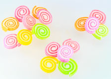 Sweets candy isolated. A lot of colorful sweets Royalty Free Stock Images