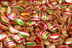 Sweets and candy stock image