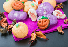 Sweets and candy to celebrate Halloween Stock Photography