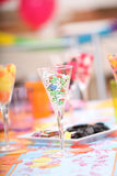 Sweets at a child's party Stock Photography