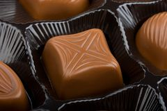 Sweets chocolate Stock Images
