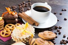 Sweets for coffee break Royalty Free Stock Photo
