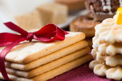 Sweets for coffee break Royalty Free Stock Photos