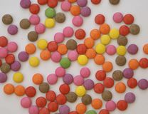 Sweets. confectionery. candy. chocolate sweets Stock Images
