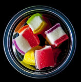 Sweets in a cup , Royalty Free Stock Photography
