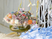 Sweets and decoration Stock Images