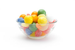 Sweets. Delicate sweets of different colors, shapes and flavors that appeal to children of all ages stock photography