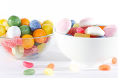 Sweets. Delicate sweets of different colors, shapes and flavors that appeal to children of all ages Stock Photo
