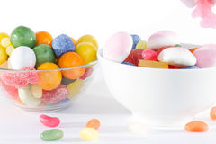 Sweets. Delicate sweets of different colors, shapes and flavors that appeal to children of all ages Royalty Free Stock Photo