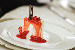 Sweets dessert on a wedding party Royalty Free Stock Images