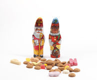 Sweets for Dutch 'Sinterklaas' holiday Royalty Free Stock Images