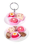 Sweets For A High Tea Stock Photography