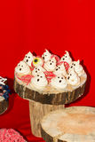 Sweets for Halloween on the holiday table. Stock Photography