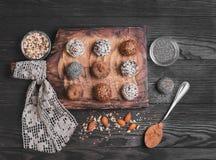 Sweets handmade chocolates Royalty Free Stock Photo