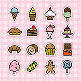 Sweets icon Royalty Free Stock Image