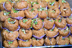 Indian Sweets - Makhan bada Royalty Free Stock Photos