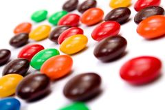 sweets kolor Zdjęcia Royalty Free