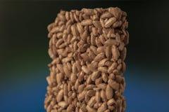 Sweets kozinaki made from sunflower seeds stock photo