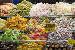 Sweets market Stock Image