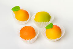 The sweets marzipan Royalty Free Stock Images