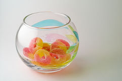 sweets misek szklanych Obraz Royalty Free