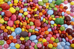 Sweets mixed selection Royalty Free Stock Photo