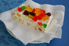 Sweets with multi-colored marmalade Stock Image