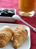 sweets śniadanie fotografia stock