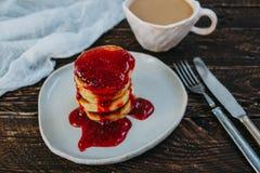 sweets śniadanie Zdjęcia Stock