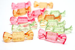 Sweets.  Objects over white Royalty Free Stock Photos
