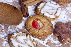 Sweets and pastries Royalty Free Stock Images